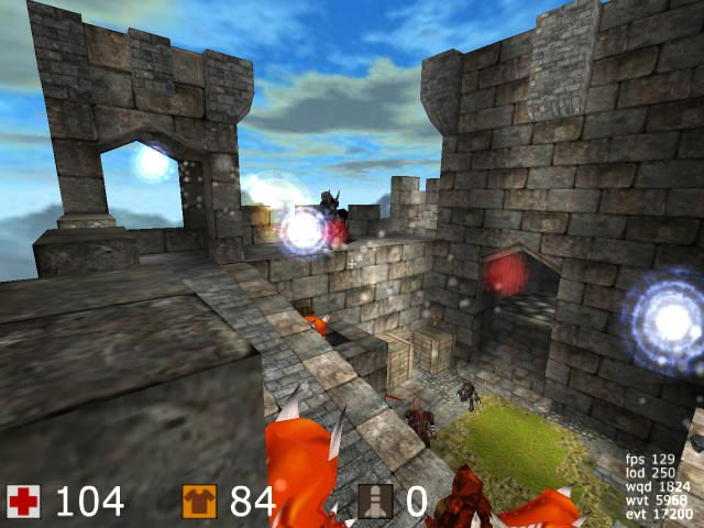 Cube 3D - Freeware Shooter SCREENSHOT 01